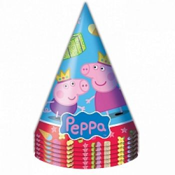 Колпаки Свинка Пеппа(6 шт)