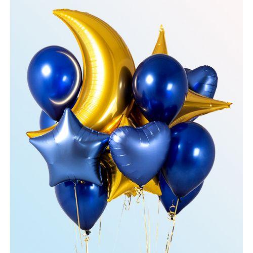 Фото шаров синий хром и металлик для мужчины
