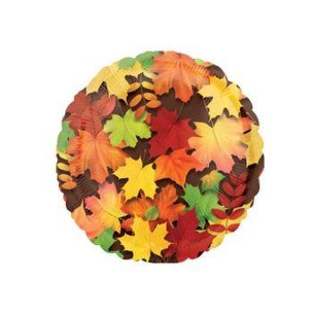 """Фольгированный шар """"Кленовые листья"""""""