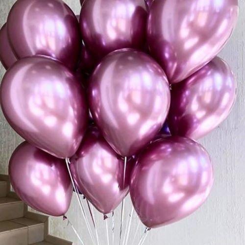 шары розовый хром - выгодная цена, Москва