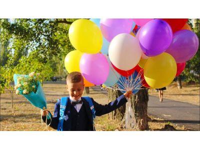 Как украсить школу воздушными шарами - блог о шарах