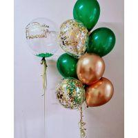 """Набор шаров с надписью """"С Днём Рождения"""""""