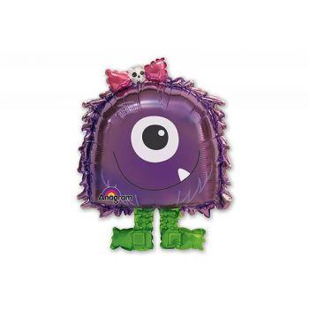 Ходячий шар Фиолетовый монстр (56 см)