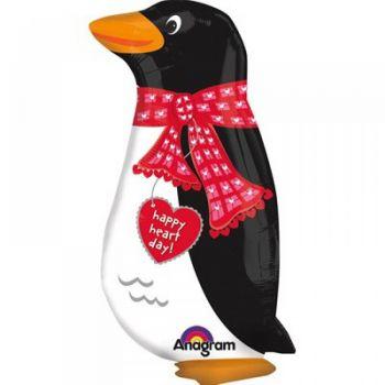 Шар ходячий Влюблённый пингвин (61 см)