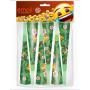 Горны Смайл, Emoji, Джунгли, 20 см, 6 шт