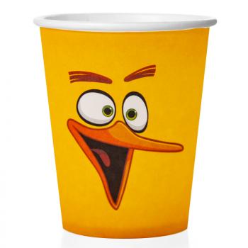 Стаканы Angry Birds, Желтый ((250 мл., 6 шт)