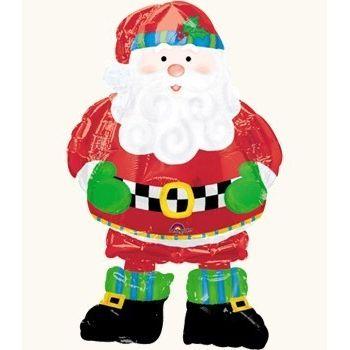 Шар новогодний Санта в сапогах (94 см)