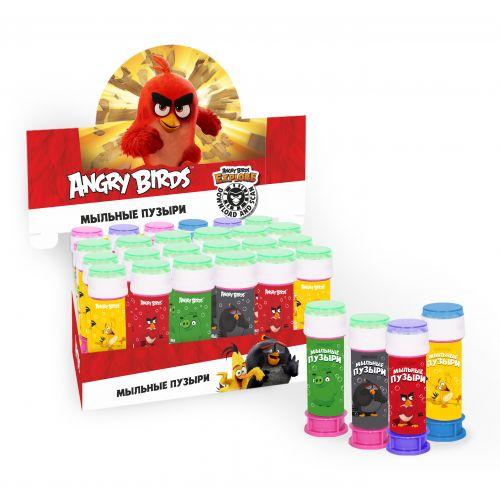 Мыльные пузыри, Angry Birds, 50 мл, 3 штуки
