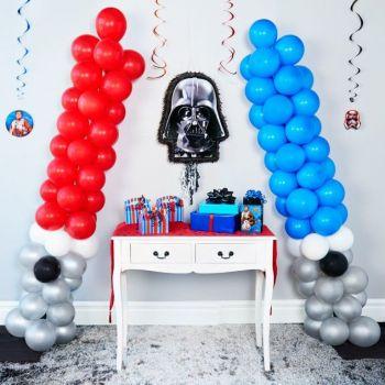 Украшение шарами в стиле Звёздные войны