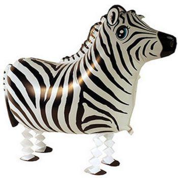 Ходячий шар зебра