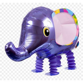 """Ходячий шар """"Фиолетовый Слоник"""""""