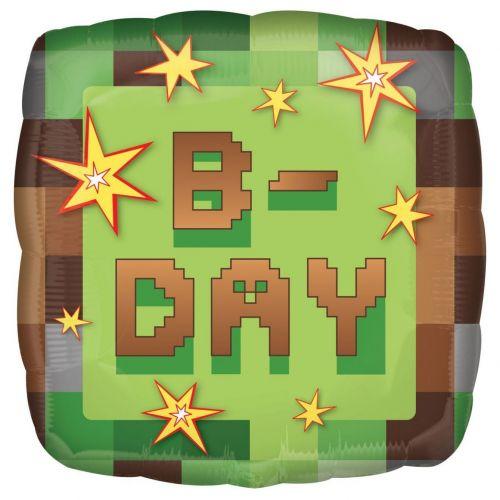 "Воздушный шар ""TNT Party B-day"" Minecraft"