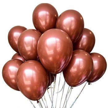 Шарики коричневые (цена за шар)