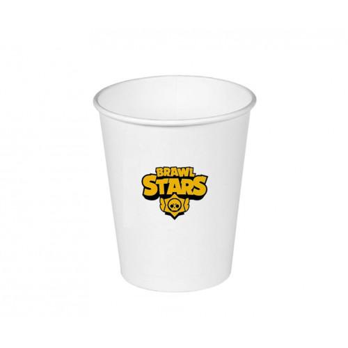 Бумажные стаканы Brawl Stars (150 мл)