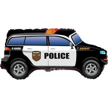 """Фольгированный шар """"Полицейский джип"""" (84 см)"""