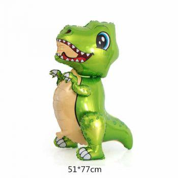 Ходячая Фигура, Маленький динозавр, Зеленый (76 см)