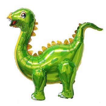 Ходячая Фигура, Динозавр Стегозавр, Зеленый (99 см)