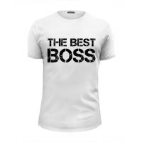 "Майка ""The best BOSS"" (любой размер)"