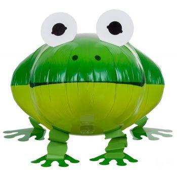 Ходячая фольгированная Фигура Лягушка (24 x 61 см)