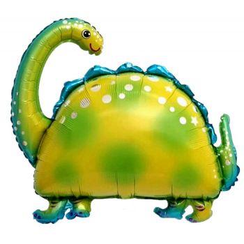 """Фольгированный шар Динозавр """"Бронтозавр"""" (91 см)"""