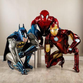 Три ходячих супергероя от студии Marvel