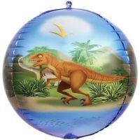 """Шар """"Динозавры - Сфера 3D"""" (61 см)"""