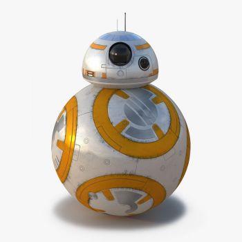 """Фольгированный шар """"Звездные Войны Дроид"""" (50 x 83 см)"""