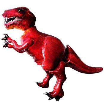 Ходячий шар Динозавр (Красный)