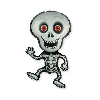 Фольгированный шар Скелет (102 x 62 см)