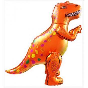 Ходячая Фигура, Динозавр Аллозавр, Оранжевый (64 см)