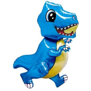 Ходячая Фигура, Маленький динозавр, Синий (76 см)