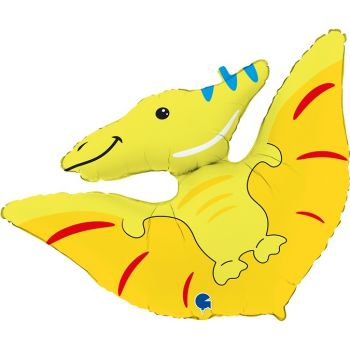 """Фольгированный шар динозавр """"Птеродактиль"""" (86 см)"""