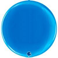 Шар Сфера 3D, Синий (46 см)