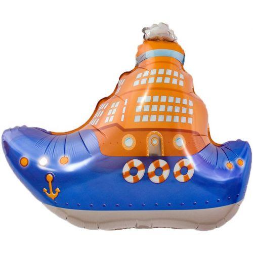 Фольгирванный шар Корабль (81 см)