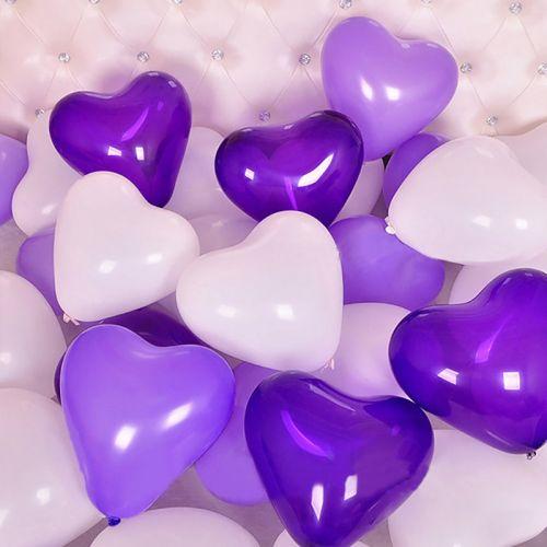 Сердца на пол (воздух, 20 штук)