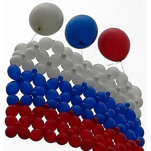 Варианты оформления шарами на день города