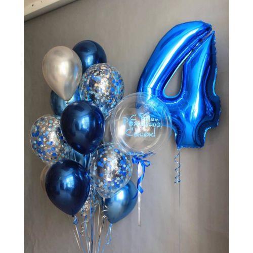 поздравить ребёнка доставкой шаров с Москве