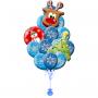 Где купить шарики со снежинками и дедом морозом в САО круглосуточно