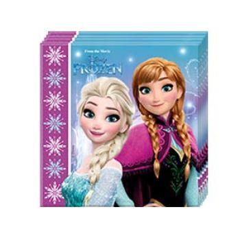 """Салфетки """"Frozen Севергое сияние"""""""