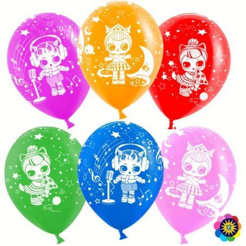 идеи шариков в розовых тонах для девчёнок на детскую вечеринку в честь дня рождения