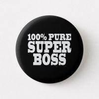 """Чёрный шар гигант """"100% Pure Boss"""" (70 см)"""