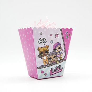 Коробочки для сладостей, Кукла ЛОЛ 6 шт.