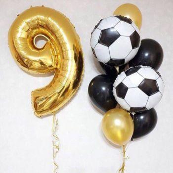 Набор шаров для 8 летнего любителя футбола