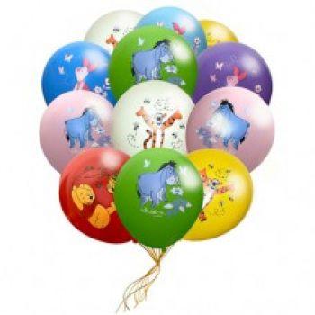 Латексные шарики Винни Пух (ЦЕНА ЗА ШАР)