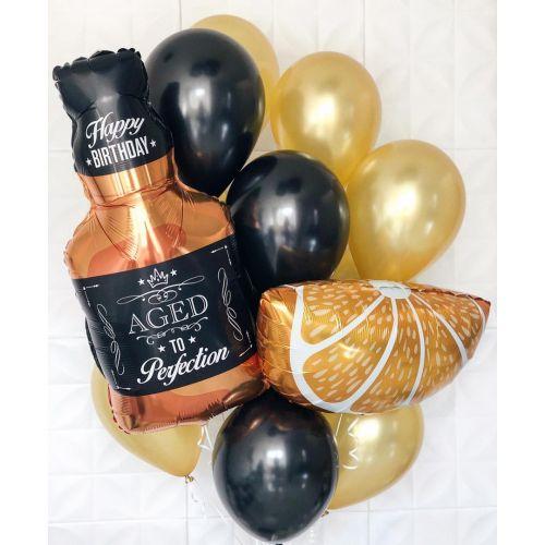 Доставка шаров президенту компании или мужчинам на день рождения