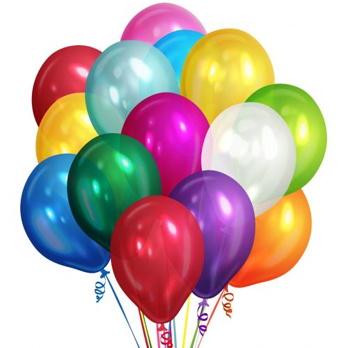 Заказать 25 шаров под потолок - Москва