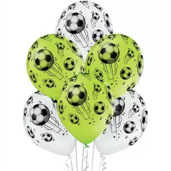 Шарики (белые и зелёные) - цена за шар