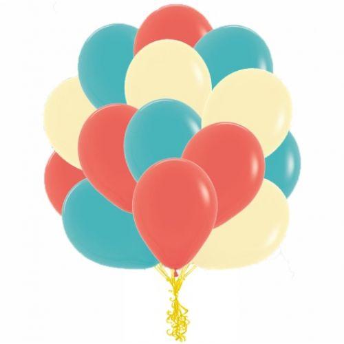 шарики три цвета выбрать удобно на sharartstudio.ru
