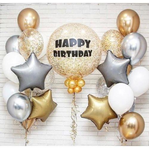 "Набор шаров ""Happy Birthday"""