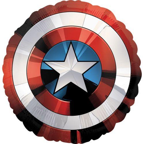 Фольгированный шар Капитан Америка - Звезда